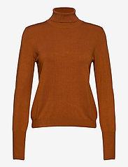 InWear - Novella Roleneck - turtlenecks - leather brown - 1