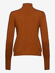 InWear - Novella Roleneck - turtlenecks - leather brown - 2
