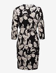 InWear - Chan Dress HW - midi kjoler - watercolor flower black - 1