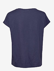 InWear - Sicily Tshirt - short-sleeved blouses - ink blue irregular animal - 1