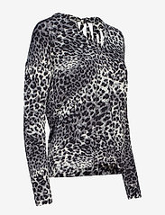 InWear - Fillucca Blouse - long sleeved blouses - leopard non - 2