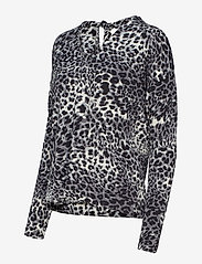 InWear - Fillucca Blouse - long sleeved blouses - leopard non - 3