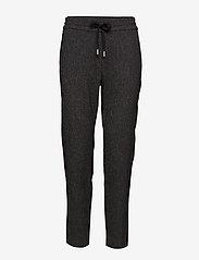 InWear - Gudrun Pant Nica Fit - casual trousers - dark grey melange - 0