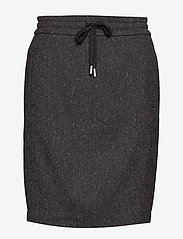 InWear - Gudrun Skirt - short skirts - dark grey melange - 0