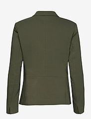 InWear - Zella Blazer - figursydda kavajer - beetle green - 1