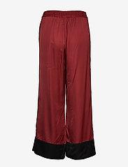 InWear - ToryIW Pant - bukser med brede ben - russet brown - 1