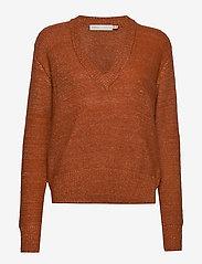 InWear - OridaIW Pullover - neulepuserot - rust - 0