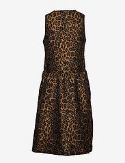 InWear - MounaIW Dress - midimekot - leopard gold - 1