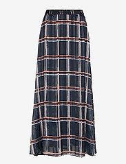 InWear - ZilmaIW Hilma Skirt - midi skirts - marine blue check - 0