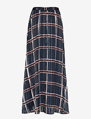 InWear - ZilmaIW Hilma Skirt - midi skirts - marine blue check - 1