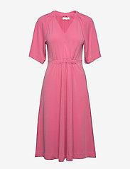 InWear - AbelIW Dress - do kolan & midi sukienki - morning glory - 0