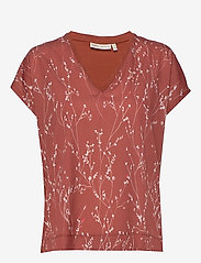InWear - Sicily V T-Shirt - t-shirty - cayenne branches - 0