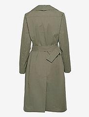 InWear - YumaIW Coat - trenchcoats - beetle green - 2