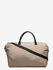 IW Travel Weekend Bag - IW LOGO BEIGE/BLACK