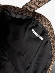 InWear - IW Travel Tote Bag - tote bags - iw logo beige/black - 3