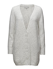 Panula Cardigan - LIGHT GREY MELANGE