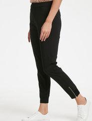 InWear - Nica L Pants - spodnie proste - black - 0
