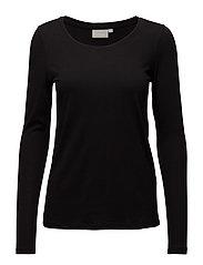 Rena LS Tshirt - BLACK
