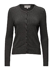 Rita Cardigan - DARK GREY MELANGE