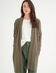 InWear - Renee Cardigan - jakas - beetle green - 0