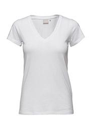 Rena V Tshirt - PURE WHITE
