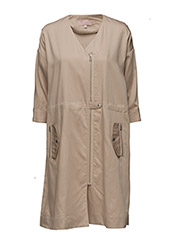 Fadia Dress by Helena Christensen - CAFE AU LAIT