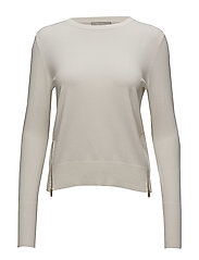 Unnur Pullover RS KNIT - WHITE SMOKE