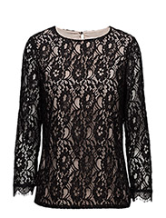 Polly Blouse LW - BLACK