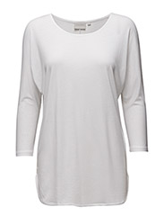 Tova 3/4 sleeve - PURE WHITE