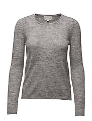 Wurex O Pullover KNIT - LIGHT GREY MELANGE