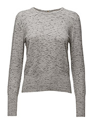 Wiwi Zip Pullover KNIT - LIGHT GREY MELANGE
