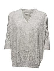 Yori Tshirt - LIGHT GREY MELANGE