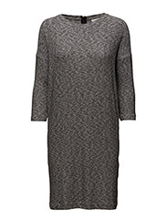 Yoriko Dress - MEDIUM GREY MELANGE