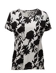 Yoki Tshirt - MONOCROME FLOWER