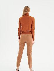 InWear - Novella Roleneck - turtlenecks - leather brown - 4
