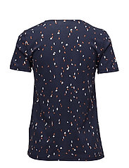 Noki s/s T-shirt KNTG - SPONTANEOUS DOTS MIDNIGHT