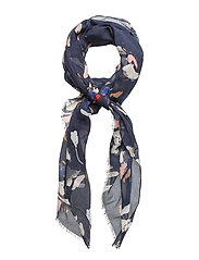 Hanni Scarf - PAINTED FLOWER MIDNIGHT