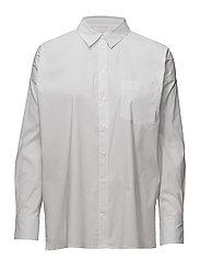 Baldwin Short Shirt - PURE WHITE