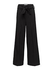 Chaia Wide Pant HW - BLACK
