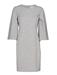 Chaia Dress - NEW LIGHT GREY MELANGE