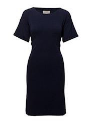 Alexa Tie Dress - MIDNIGHT