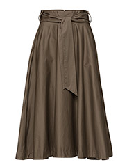 Zehra Skirt HW - DESERT TAUPE