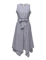 Sevilla Dress LW - YARN DYED BLUE STRIPES