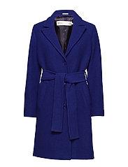 Sabine Coat OW - CLEMATIS BLUE