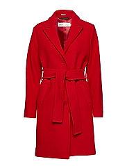 Sabine Coat OW - RACING RED