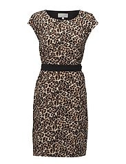 Saffron Dress HW - LEOPARD