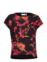 Sicily Tshirt - BIG PINK PETUNIA ELDERFLOWER