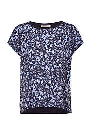 Sicily Tshirt - MARINE BLUE SHIB SPL