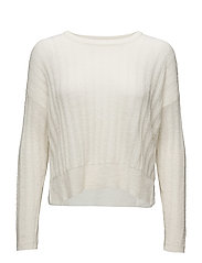 Sincere Pullover KNIT - WHITE SMOKE