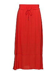 Subira Skirt LW - FIERY RED